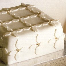 Holly Leaf Cake Decoration