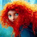 Brave Princess Merida Wallpapr icon