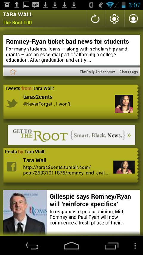 Tara Wall: The Root 100 - screenshot