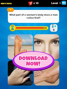 Men's Trivia™ - Play Now! - screenshot thumbnail