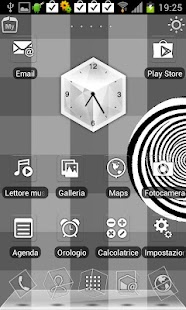 Black & White Rabbit Launcher - screenshot thumbnail
