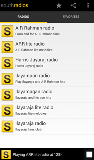 Southradios- screenshot