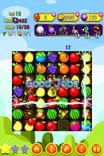 Cartoon Fruit Saga - screenshot thumbnail