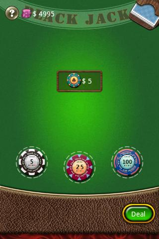Blackjack 2011 - screenshot