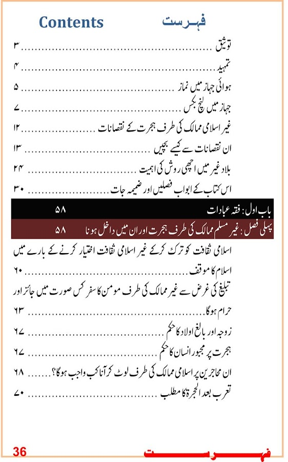 Jadid Fiqhi Masail (Urdu)- screenshot