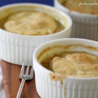 Cheesy Turkey Pot Pies.