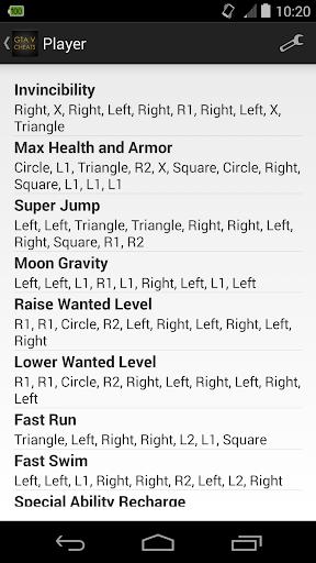 Cheats for GTA 5 PS4 Xbox