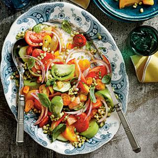 Heirloom Tomato Salad.