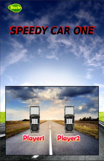 Speedy car one