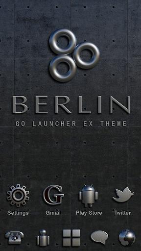 Berlin GO Launcher Ex Theme