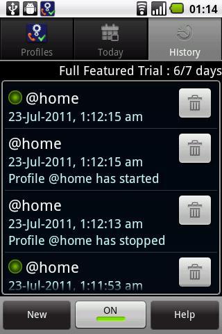 Actions Lite - screenshot