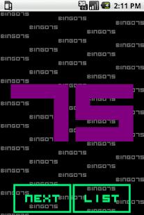 BINGO75 - screenshot thumbnail
