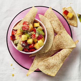 Spiced Tortillas with Tropical Fruit Salsa