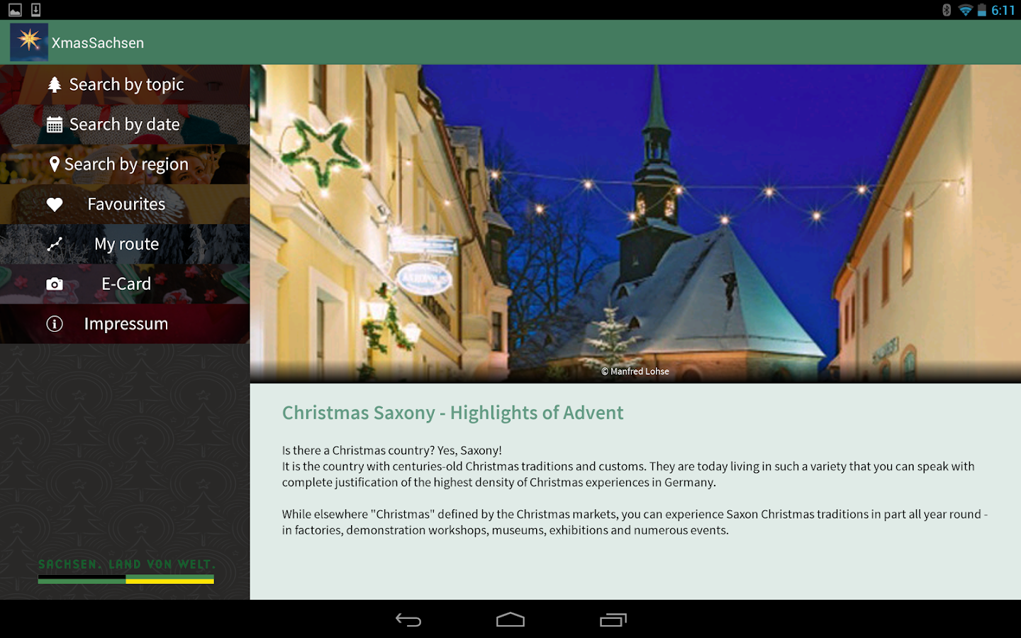 Christmas Wonderland Saxony- screenshot