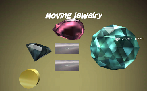 Moving jewelry ~Let touch it ~