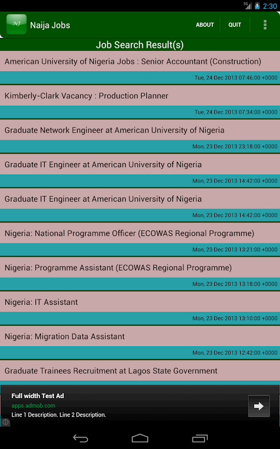 Naija Jobs - screenshot