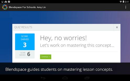 Blendspace for Schools:Student - screenshot thumbnail