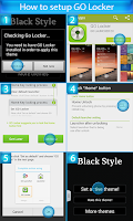 Screenshot of GO Locker for Samsung S3