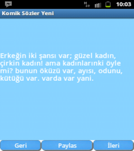 Komik Sözler- screenshot thumbnail