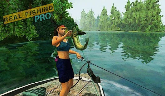 Game real fishing pro apk for kindle fire download for Real fishing games