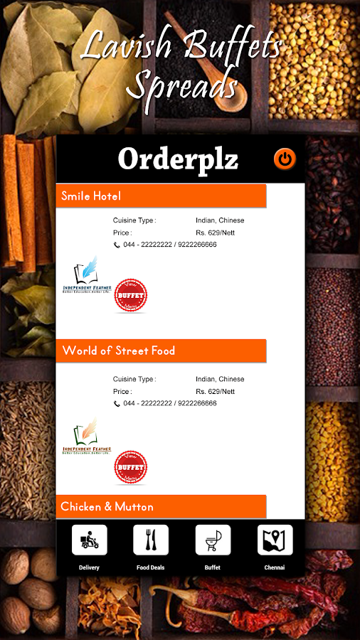 Orderplz - Easy food order App- screenshot