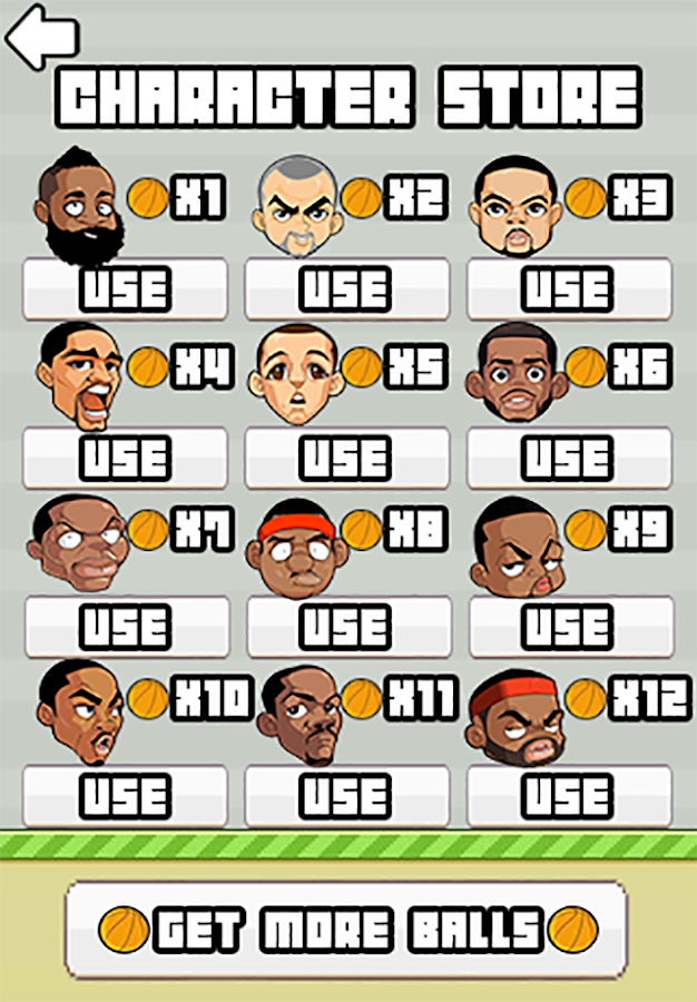 Flappy Ballers - Basketball- screenshot