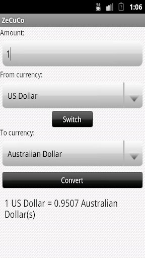 ZeCuCo -Zed Currency Converter