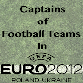 Euro Football Teams Captains