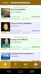 Insight Timer Meditation Timer- screenshot thumbnail