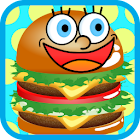 Yummy Burger Kids Cooking Game icon