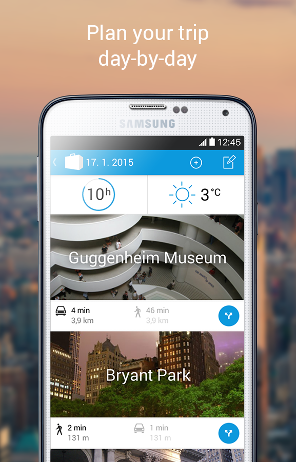 Tripomatic Trip Planner - screenshot