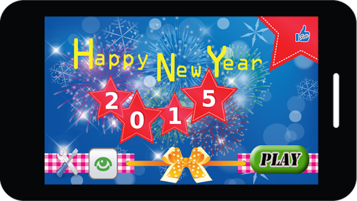 Jigsaw puzzle on New Year