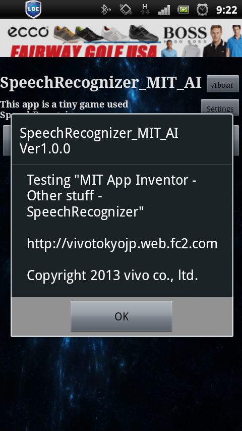 SpeechRecognizer_MIT_AI- screenshot