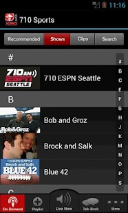 710 ESPN Seattle - screenshot thumbnail