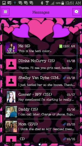 GO SMS THEME - SCS459