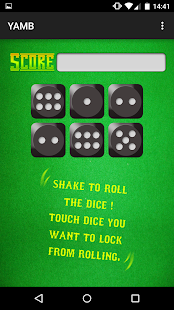 YAMB dice- screenshot thumbnail
