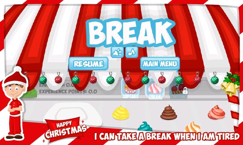 Cupcake Maker - Cooking Dash - screenshot