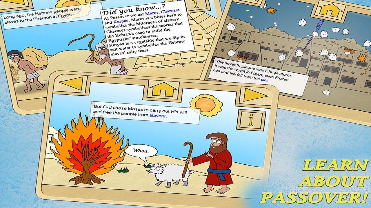 Passover - Ten Plagues Lite - screenshot