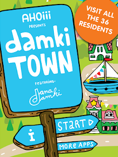 Damki Town – Colouring Book
