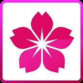 Photo Frame Sakura Flower