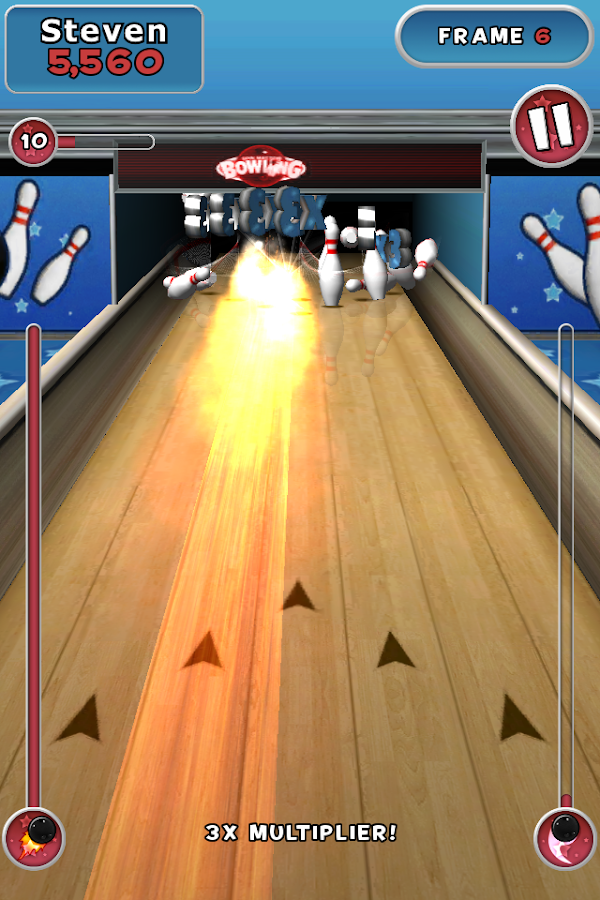 Spin Master Bowling - screenshot
