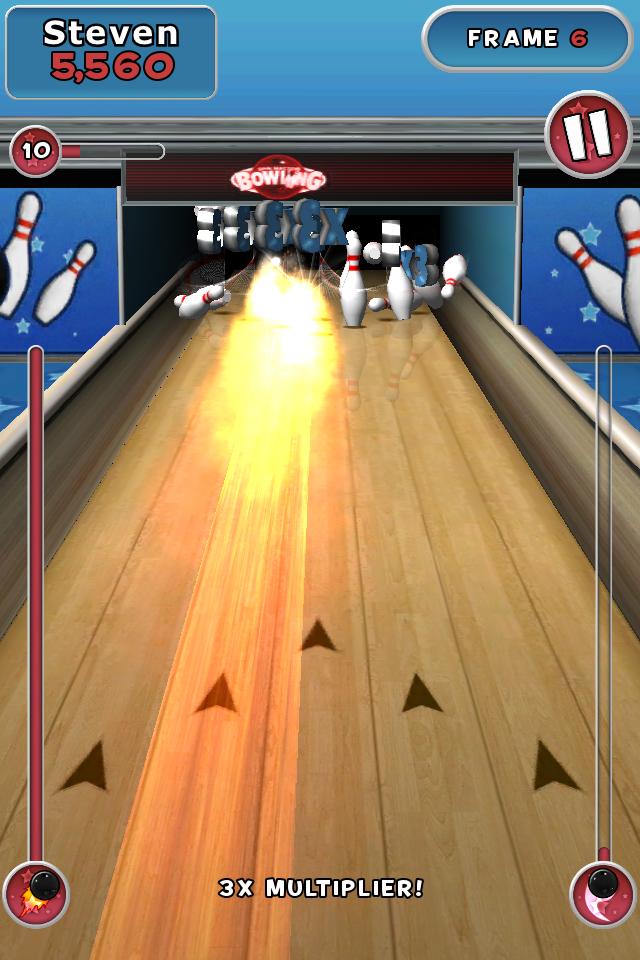 Spin Master Bowling screenshot #2