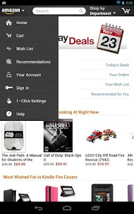 Amazon for Tablets - screenshot thumbnail