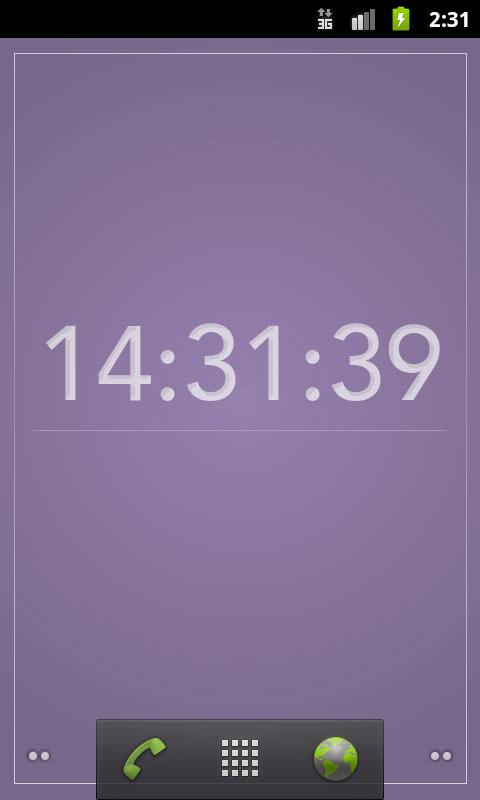 The Colour Clock Wallpaper - screenshot
