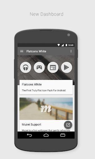 玩個人化App|FlatCons White Icon Pack免費|APP試玩