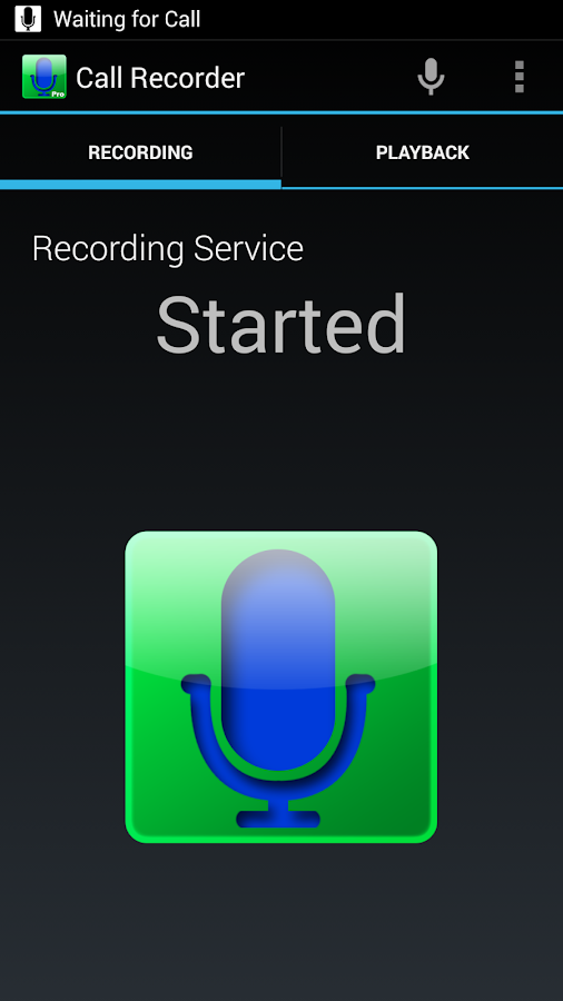 Digital Call Recorder Pro- screenshot