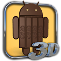 Android KitKat 3D icon