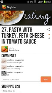 Daybite - healthy diet recipes- screenshot thumbnail