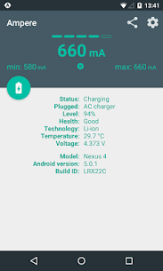 Ampere 2.11 [Pro Unlocked/Patched] Cracked Apk 2