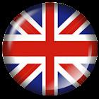 British Flag Badge Widget icon